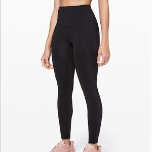 """Lululemon Black All The Right Places Pant 28"""""""